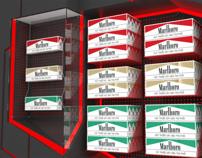 Marlboro Gondola Display