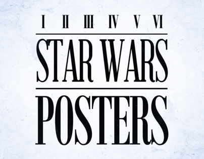Star Wars posters- Reflections