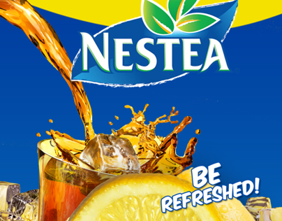 Nestea Bottle - Packaging Design