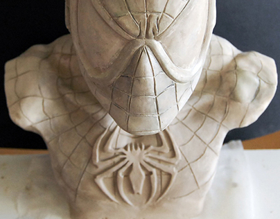 Spiderman Bust - Original piece