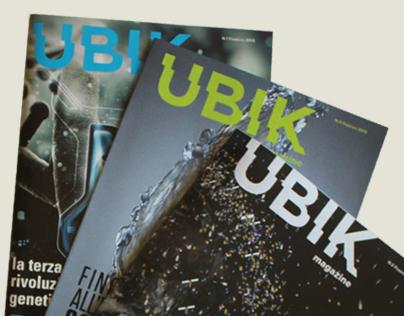 Ubik Magazine [editorial design]