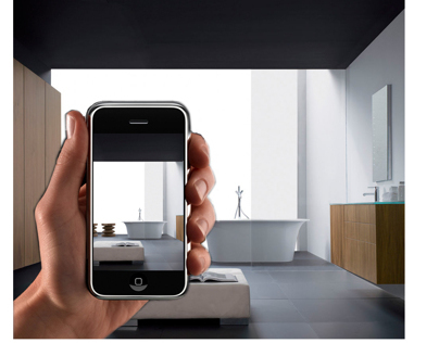 Queo - Mobile App for Bathroom Designers