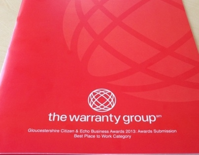Warranty Groups brochure