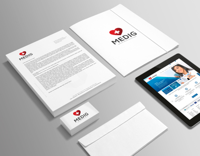 MEDIG/ Rebranding  website design for a medical center