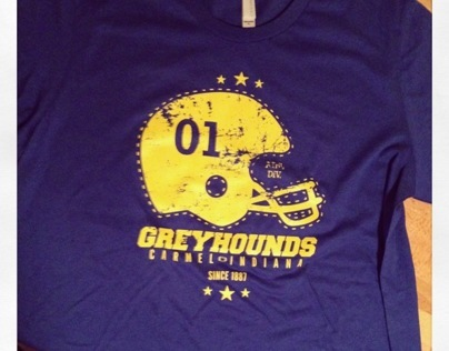 t-shirt   Carmel GreyHounds, IN