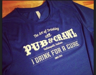 t-shirt    Pubcrawl