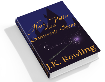 Harry Potter & the Sorcerers Stone Book Cover Redesign