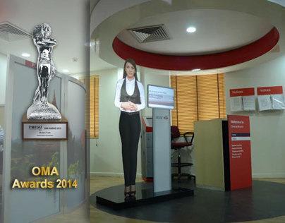 HSBC Virtual mannequin