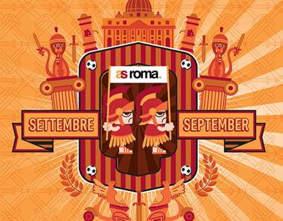 Illustrazioni - AS Roma Diary