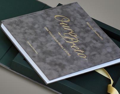 BOOK DESIGN - Ouro Preto - Uma viagem em Pedra e Ouro