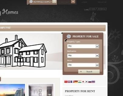 Real Estate / Property Listing Website/Database/CRM
