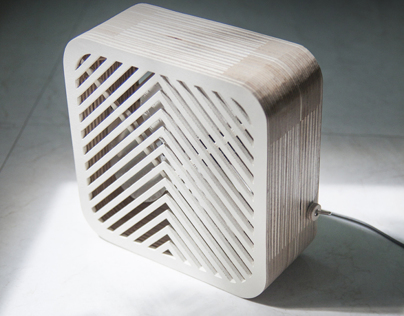 Wood Electric Fan