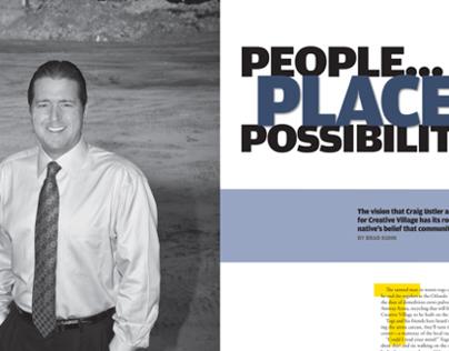 Orlando magazine, Craig Ustler feature, November 2012