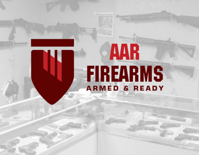 Firearms shop logo design
