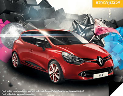 Renault Happy Birthday Mailing Design