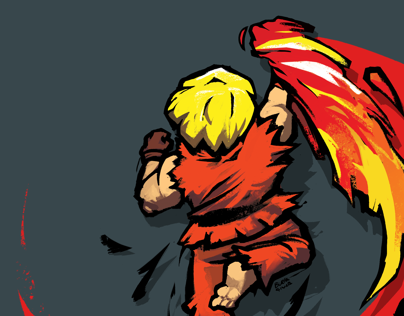 Shoryuken Tshirt Design