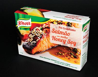 Knorr Salmão com molho Honey Soy