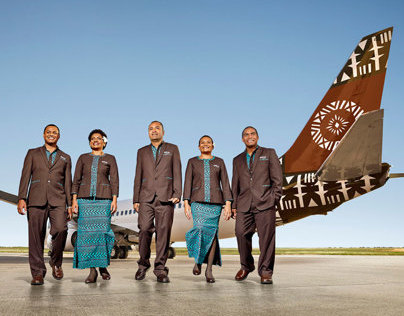 Fiji Airways - Uniform story