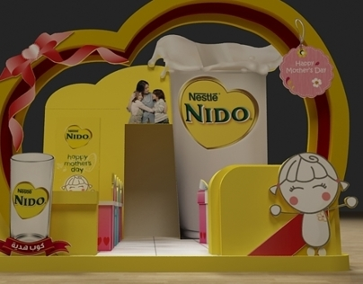 Nido Mothers Day Booth
