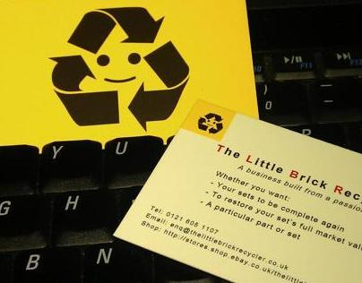The Little Brick Recyler - Business card and Logo