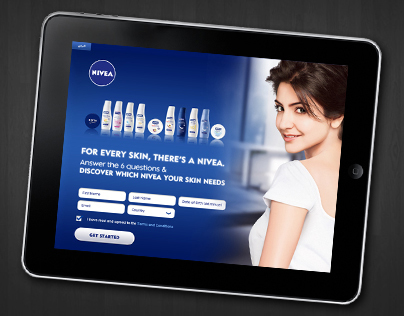 Nivea Skin Analyzer (iPad app)