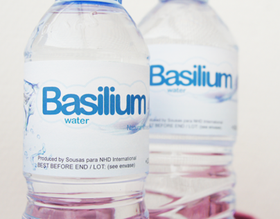 Basilium Water - Labels