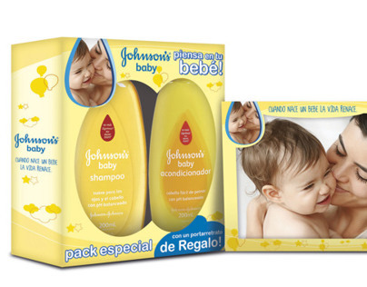 Johnsons Baby Packaging