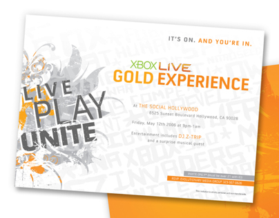 Xbox Live Launch Campaign