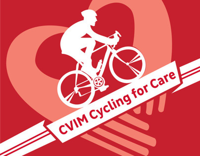 CVIM Cycling for Care Event Branding