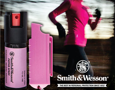 Smith & Wesson Pepper Spray Ads