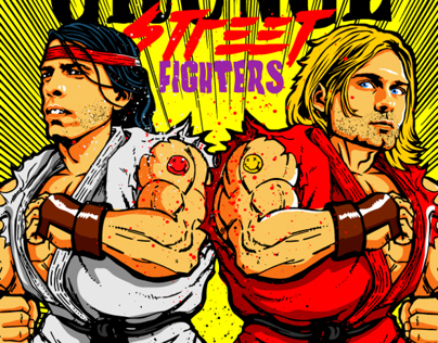 Grunge Street Fighters Project by Butcher Billy