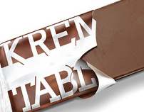 KREM TABLA chocolate bar packaging