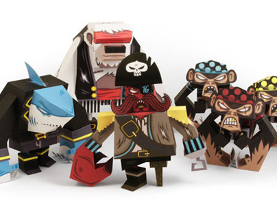 Pirates - papertoy