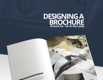 Trigger - Brochure design and production
