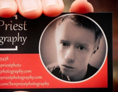 Ben Priest Business Cards