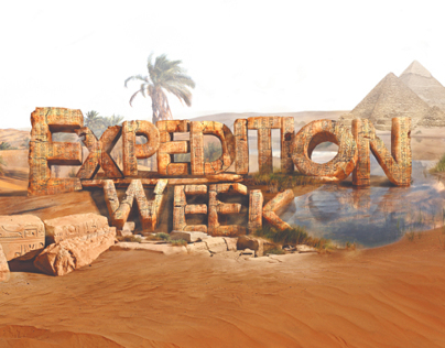 EXPEDITION WEEK Key Art Advertising Campaign