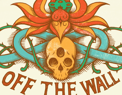 VANS OFF THE WALL Screen Print Poster
