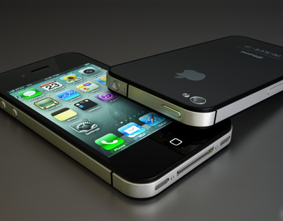 iPhone 4S 3D Design | Animation