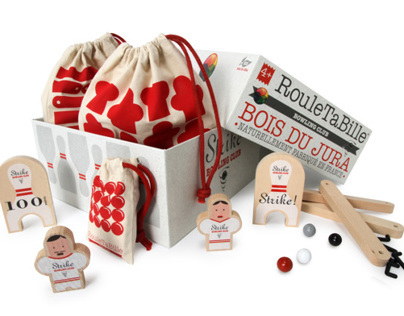 Rouletabille : Wood eco-game, made in France