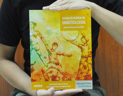 Book Cover Illustration - Oficina de Ginástica