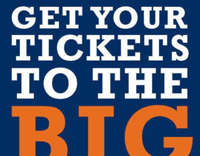 Big Games Promotional Flyer