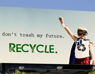 Recycle Outdoor Ad
