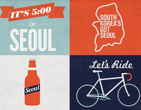 Seoul Illustration