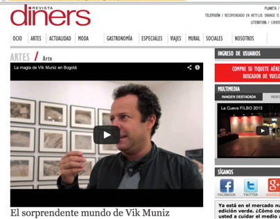 Realización de video para Revista Diners
