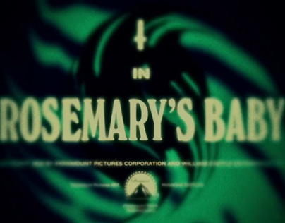 † Rosemarys Baby †  (End Titles)