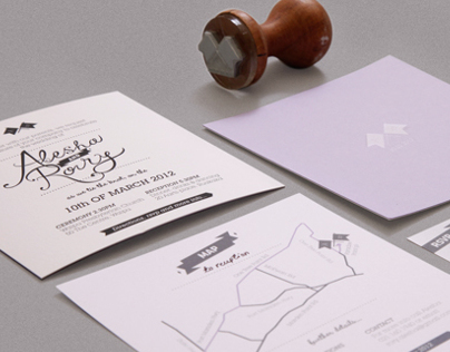 A&R Wedding Invites