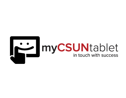 myCSUN Tablet Initiative Campaign