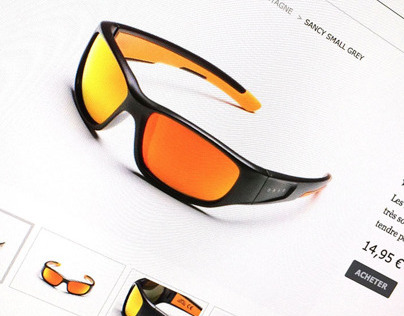 ORAO Eyewear website