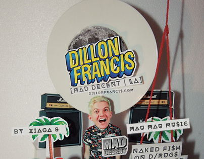 Dillon Francis - Flyer Design