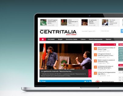 Centritalia News | website